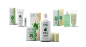 Unsere Aloe Vera Produkte der Firma Ebanonatur in San Bartoleme aus Lanzarote.