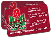 Kunedenkarte Apotheke Marktkauf in Northeim