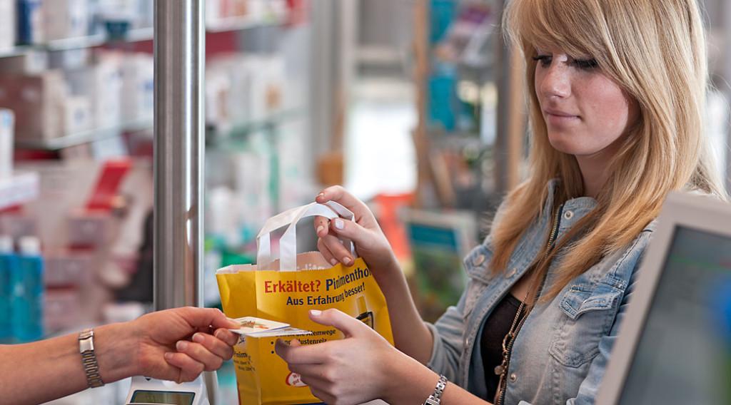 Bargeldloses Einkaufen Apotheke im Marktkauf Northeim